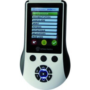 Stimulateur antalgique et musculaire EMS4 pro - Carrées, dim. 50 x 50 mm.