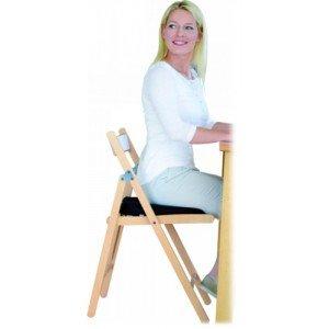 Coussin ergonomique Sit Air - Coloris bleu.