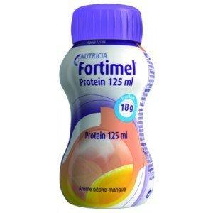 Fortimel® Protein 200 ml et 125 ml - Bouteille 200 ml, sensation chaude, tropical gingembre.