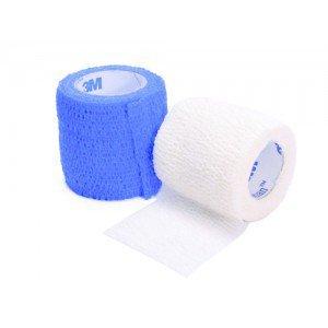 Bande cohésive élastique - 3M™ Coban™ Dim 2,5 cm x 4,5 m (longueur étirée)