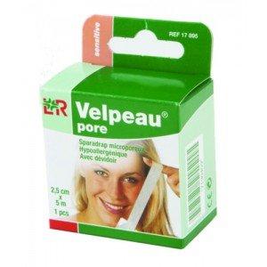 Sparadrap Velpeau® pore* - Dim 5 m x 2,5 cm