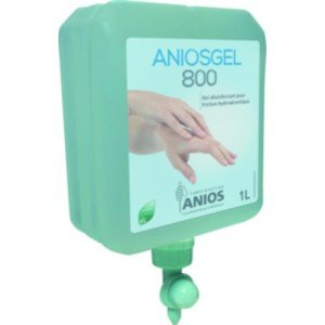 Aniosgel 800 - Le flacon pompe de 1L.