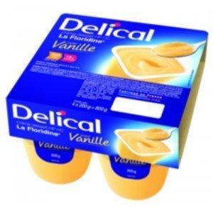 Delical Crème HP HC avec lactose (la Floridine) - Vanille.