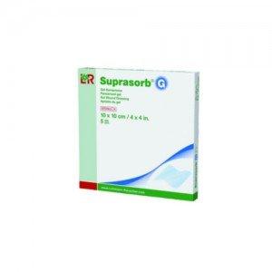 Suprasorb® G - Pansement hydrogel stérile* - La boîte de 5, dim 10 x 10 cm