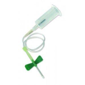 Unités de prélèvement Safety-Lok™ BD* Vacutainer® - Vertes, 21G, Ø ext. 0,8 mm, L 20 mm.