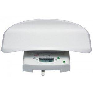 Seca 384* pèse-bébé électronique et pèse-personne plat pour enfants – capacité élevée et double fonction (III) - Le pèse-bébé.