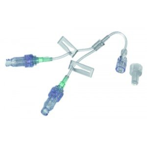 Valve bidirectionnelle à pression positive Caresite® - Prolongateur avec 2 valves Caresite®.