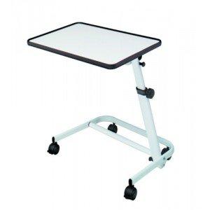 Table de lit Diffusion - La table ronce de noyer.