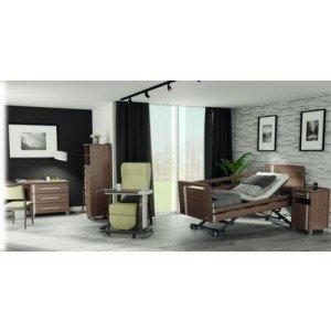 Mobilier de chambre AUBANCE - Chiffonnier (7 tiroirs / 2 niches) sur pieds
