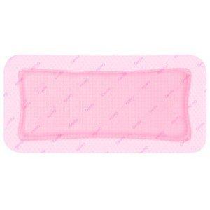 Pansement adhésif hydrocellulaire siliconé Allevyn™ Gentle Border - La boîte de 16, dim. 12,5 x 12,5 cm.
