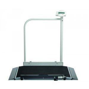 Seca 677* plateforme de pesée avec main courante et roulettes de transport pour fauteuils roulants (III)