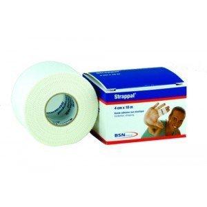 Bande adhésive rigide Strappal® - La bande blanche, dim. 3 m x 8 cm.