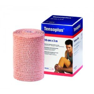 Tensoplus® - La bande blanche, dim 3 m x 8 cm