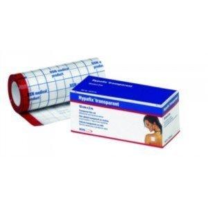 Bande de fixation adhésive imperméable Hypafix® transparent - Dim. 10 m x 10 cm.