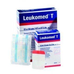 Pansements post-opératoires Leukomed® T - La boîte de 50, dim. 5 x 7,2 cm.