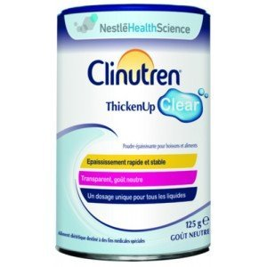 Clinutren® Thicken up clear Sans lactose - Bouteille 125 ml, pêche-mangue.