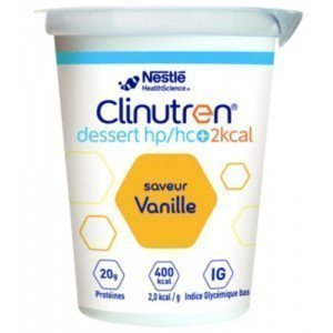 Clinutren® dessert HP/HC+ 2 Kcal Sans lactose - Grenadine.