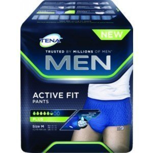 TENA Men Active Fit ou Premium Fit - Le paquet de 14 Plus, taille L.