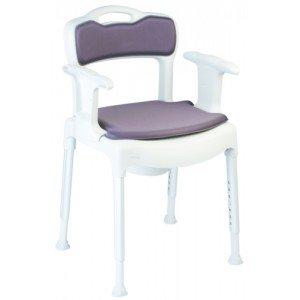 Chaise 3 en 1 Etac SWIFT Commode - Avec coussins, bassin et couvercle