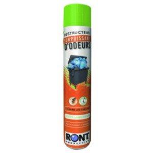Aérosol destructeur d'odeurs - Le pulvérisateur inodore.