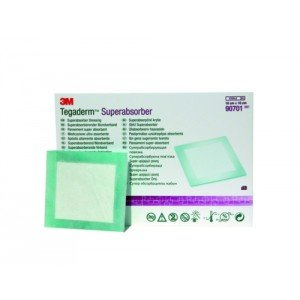 Pansement super absorbant 3M™ Tegaderm™ Superabsorber* - Dim. 20 x 20 cm.