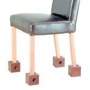 Surélévateurs de meuble - Pour lits : base supplémentaire pour plus de stabilité, H 13 cm