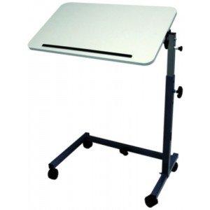 Table à manger au lit AC 207 - La table cérusée. Dim. L 90 cm, réglable de 113 à 136 cm.
