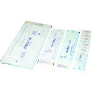 Sachets de stérilisation à souder - Dim. 150 x 200 mm.
