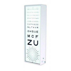 Echelles optométriques lumineuses