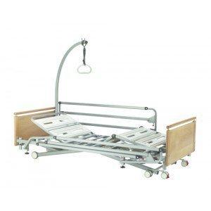 Lit EURO 9000/2 Securis - Relève-jambes électrique à plicature (3 fonctions)