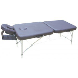 Table de massage Aluminium Light - La table chocolat