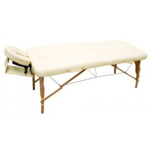 Table de massage 1 plan - La table noire.