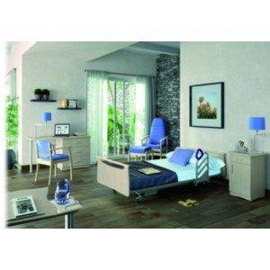 Mobilier de chambre CARMEN - Table commode, 3 tiroirs à droite