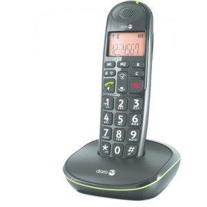Téléphone PhoneEasy 100w - Le téléphone noir