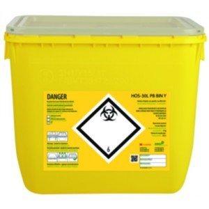 Fûts plastique Clinisafe® - Récupérateurs 1 litre.