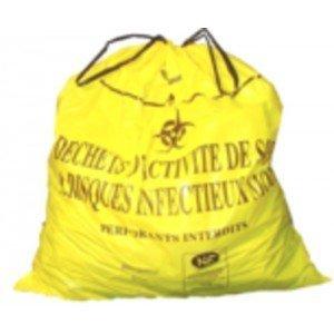 Sacs liens coulissants - Le carton de 100 sacs transparents (eau chaude).