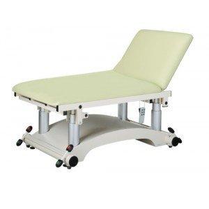 Divan Ovalia Max électrique - La table avec plateau.