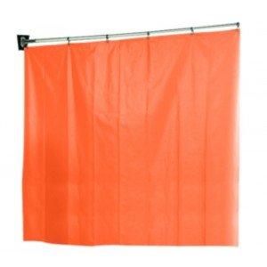 Paravents Paravit - Le paravent 3 panneaux rideau PVC blanc.
