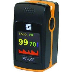 Oxymètre PC-60E - L'oxymètre avec capteur pédiatrique déporté velcro.