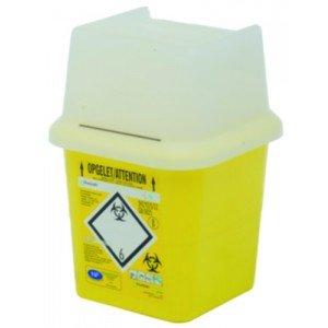 Récupérateurs de déchets Sharpsafe™ - Récupérateurs 2 litres avec clapet.
