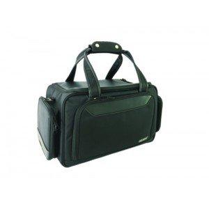 Mallette Swing MedBag - Black Edition (Finition luxe : surpiqûres blanches, bandes en simili cuir)