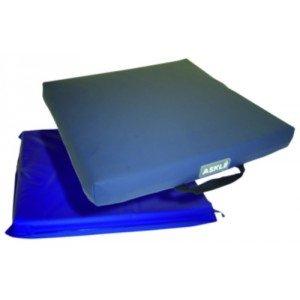 Coussin gel et mousse Geltop Classe IB - Dim. 43 x 43 x > 6 cm (de 30 à 100 kg).