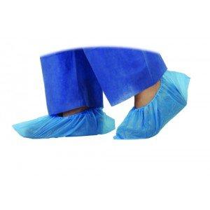 Surchaussures non tissé - Antidérapantes bleues