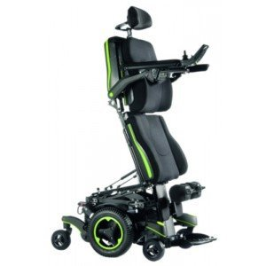 Quickie Q700-UP M - Fauteuil rouge.